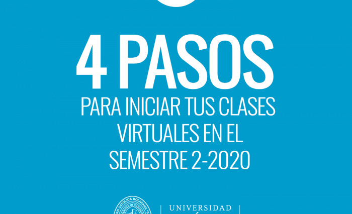4 pasos clases virtuales 2020